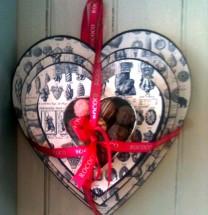 My chocolate passionate heart