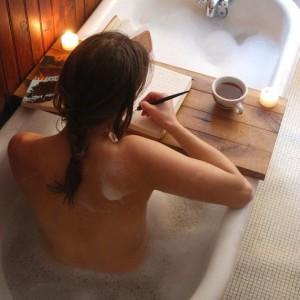 self-love bath
