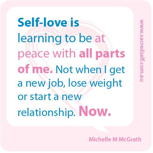Do you outsource self-love?