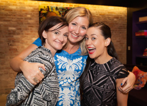 Amy Taylor Kabbatz and Jade McKenzie - my co-panelists in New York! Katya Nicholas Photography