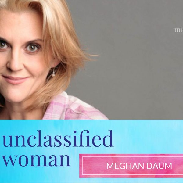 26: Selfish, Shallow & Self-Absorbed with Meghan Daum